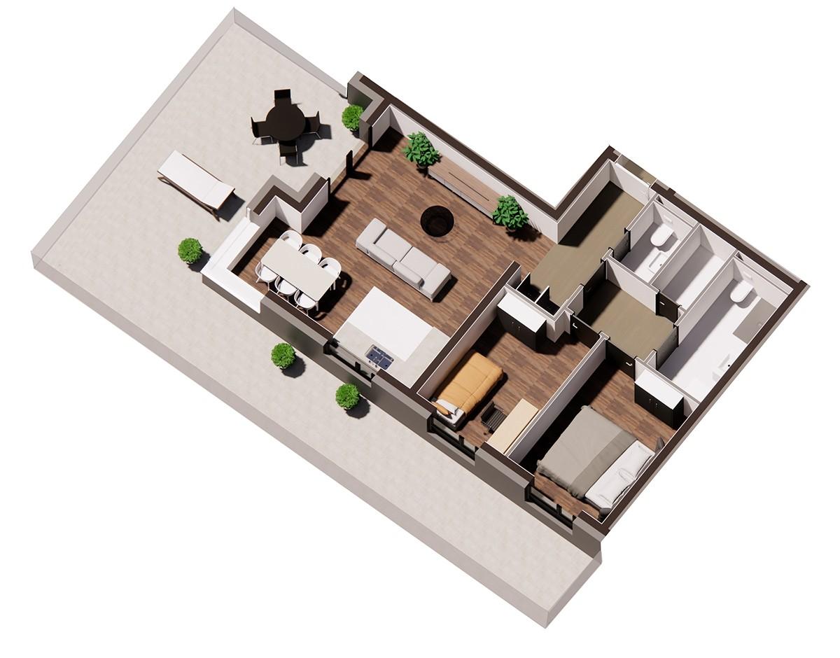 Stan A 1 3 - 3D vizualiazacija